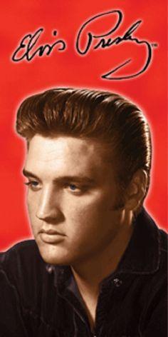 Elvis Presley Autograph Velour Pool Bath Beach Towel (30x60) FULLY LICENSED #IslandGear