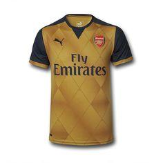 Arsenal Adult 2015/16 S/S Away Shirt at Arsenal Direct