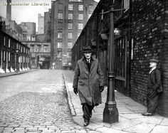 LS Lowry in New Cross, 1968.