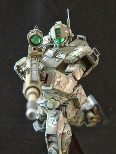 HGUC 1/144 GM Sniper II - Custom Build