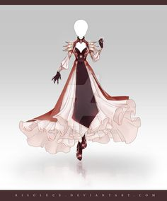 (OPEN) Adoptable Outfit Auction 233 by Risoluce.deviantart.com on @DeviantArt