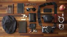 Is there a name for the type of photography or layout where items are arranged on a grid? What In My Bag, What's In Your Bag, Edc Essentials, What's In My Purse, Tac Gear, Edc Everyday Carry, Adventure Style, Gadgets, You Bag