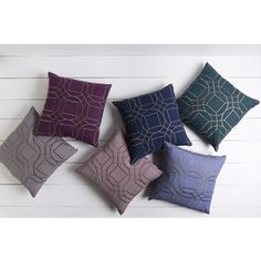Shop for Decorative Line 18-inch Poly or Down Filled Throw Pillow. Free Shipping on orders over $45 at Overstock.com - Your Online Home Decor Outlet Store! Get 5% in rewards with Club O!