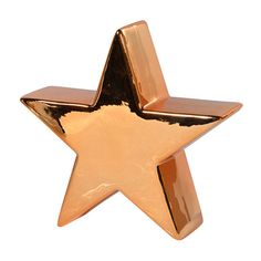 Ceramic Golden Star (£6.99) ❤ liked on Polyvore featuring home, home decor, holiday decorations, decor, christmas, filler, floral home decor, ceramic christmas tree ornaments, christmas ornaments and star christmas ornaments