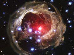 Los ecos de luz de V838 Mon universo nasa - Comunidad Accolombia