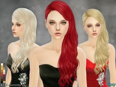 My Sims 4 Blog: Cazy Serenity Hair for Females