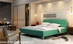 Łóżko tapicerowane Futura z pojemnikiem New Design Fabryka Sypialni