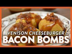 Venison Cheeseburger Bacon Bombs | Legendary Whitetails