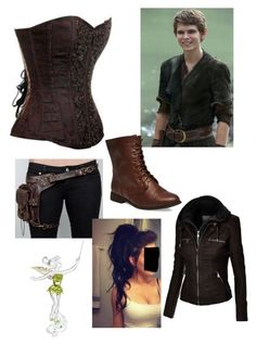 """Peter Pan's First Lost Girl"" by teenyvlogger07 ❤ liked on Polyvore featuring Once Upon a Time, Wet Seal and Swarovski"