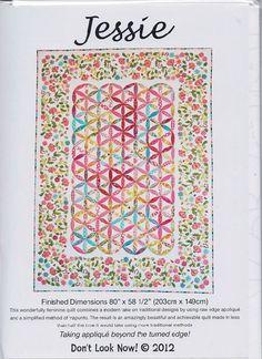 Dont Look Know - Jessie - Quilt Pattern
