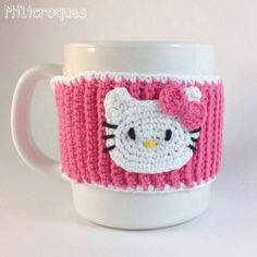 Cubre tazas kitty