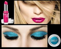 Maybelline New York Makeup. Such beautiful bold colours