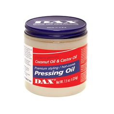Dax Pressing Oil  7.5 oz : $3.59 14 oz : $4.49 Visit BarberSalon.com One stop shopping for Professional Barber Supplies, Salon Supplies, Hair & Wigs, Professional Products, Nail Supplies. GUARANTEE LOW PRICES!!! #barbersupply #barbersupplies #salonsupply #salonsupplies #beautysupply #beautysupplies #hair #wig #deal #promotion #andis #wahl #oster #clipper #trimmer #blacksolutions #elegance #shavingrazors #shavingblades #filarmonica #hairdryers #clubman #xfusion