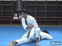 Watch and create more animated gifs like Ankle lock follow-up to mawashigeri uke (Wado-ryu) at gifs.com
