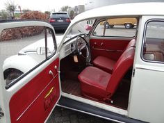 Volkswagen Beetle Red Interior