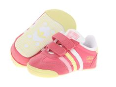 00e112b65b0 Adidas originals kids first step dragon infant bliss pink white clear light  pink