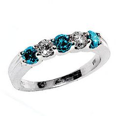 Blue Diamond Band Blue Diamond Jewelry, Diamond Earrings, Promise Rings For Her, Aqua, Turquoise, Poppy Red, Diamonds And Gold, Diamond Bands, Vintage Engagement Rings