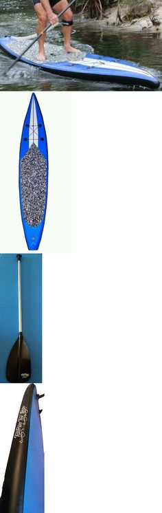 Stand Up Paddleboards 177504: New Race 12 6 Blue Stand Up Paddleboard - 6 Board Inflatable Sup Paddle BUY IT NOW ONLY: $479.0