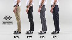 Dickies Work Pants Fit and Style Guide Dickies Workwear, Dickies Pants, Men's Pants, Vans Sk8 Hi Outfit, Best Work Pants, Dickie Work Pants, Style Masculin, Motorcycle Outfit, Workout Pants