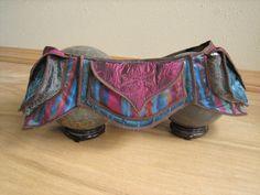 Playful Pink and Blue - Festival Pocket Belt - Utility belt - Burning man Style