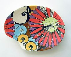 Sweet Eve Small Dish: Regina Farrell: Ceramic Tray - Artful Home