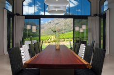Renting a luxury villa in the spectacular Cape Winelands, just an hour's drive from Cape Town is one of life's pleasures. It's also comparable to the best resorts in the world Winery Tasting Room, Round Hill, Oldenburg, Best Resorts, Beach Holiday, Luxury Villa, Room Interior, This Is Us, Vineyard
