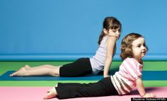 Kids' Yoga Poses Are Just As Effective As The Adult Versions, But So Much Cuter! #kidsdoingyoga #yoga4kids #yogaposes