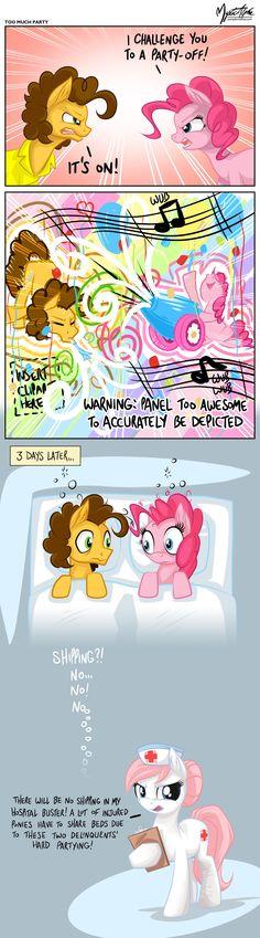 Pinkie and Cheese Sandwich Alternate Version by mysticalpha.deviantart.com on @deviantART