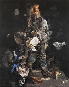 Sebastian Schrader painting