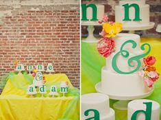 Typography Wedding Inspiration