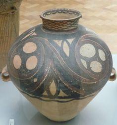 Jar with Spirals, China, 2600-2300 BC.