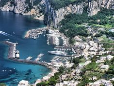 Porto da Ilha de Capri, Itália