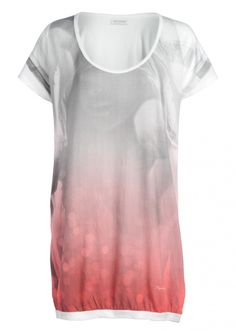 Supremebeing - Glint White top.  cool graphic