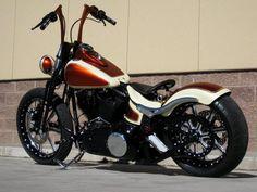 Harley Davidson: Mind-Blowing Custom Harley-Davidson Crossbones Bobber Gallery Collection, Yellowstone Harley-Davidson from Belgrade MT cust...