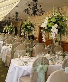 Flower Design Events Crystal Candlestick Table Design