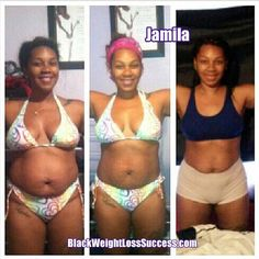 Weight Loss Story of the Day: Jamila lost 42 pounds   Black Weight Loss Success