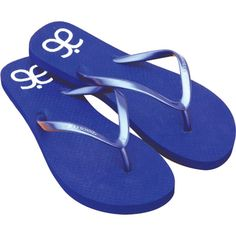 """Kick off your summertime promotions with these customizable flip flops! Available in three colors, these warm-weather essentials feature a 15mm sole with sleek, sophisticated straps and a tapered feminine outline. They are assembled and/or decorated in the USA and can feature an optional """"logo sole"""" that leaves an imprint in the sand!  Ideal for retail stores and promotional events, the minimum order is 50 pairs and sizes can be mixed (with 10 pairs per size). Don&#..."""