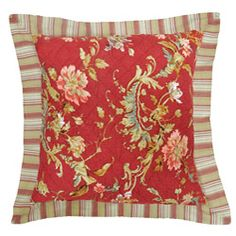 French Print Pillow