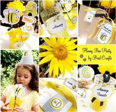 Honey bee theme.