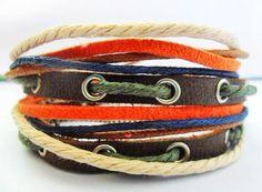 Jewelry bangle leather bracelet buckle by braceletbanglecase, $8.50