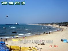 Sinquerim Beach -Goa India. Tour Packages in India, Book Vacation Packages online