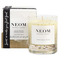 Neom Christmas Wish Scented Candle - 1 Wick.