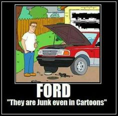 Poor maligned Fords!