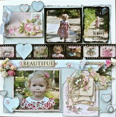Ideas for Scrapbookers: Ready for a NEW Sketch? Baby Scrapbook, Scrapbook Pages, Book Journal, Journals, Kids Pages, Multi Photo, Film Strip, Photo Layouts, Graphic 45
