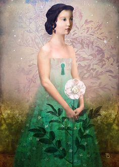 """ The Castle Garden "" by Christian Schloe"