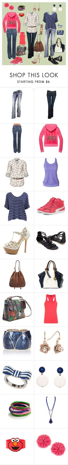 """""""Divertido, Romântico e Despojado"""" by marlenewelke ❤ liked on Polyvore featuring Miss Me, Hudson Jeans, Juicy Couture, Casall, Dorothy Perkins, Puma, Bucco, A.P.C., Vince Camuto and Vivienne Westwood"""