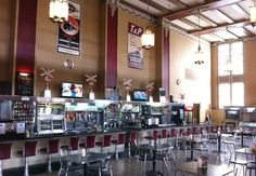 T&P Tavern @ The T&P Train Station in Fort Worth, TX. USA  Beautifully restored and dispensing many types of handcrafted local beers!
