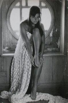 Portrait of Claudia Cardinale, 1963