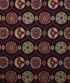 Pindler & Pindler Tanaz Fuchsia   Suzani Fabric