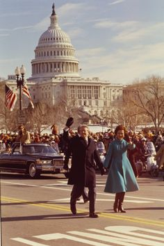 Did you know Jimmy and Rosalynn Carter started the tradition of walking the parade route to the White House on Inauguration Day? (photo: The Carter Library)